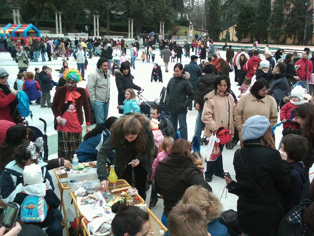 Actvidades infantiles Parque Isabel Clara Eugenia